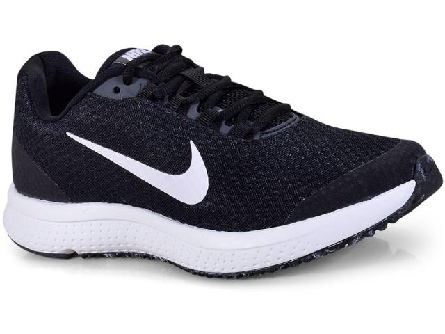 Tênis Feminino Nike 898484-019 Wmns Runallday Preto/branco