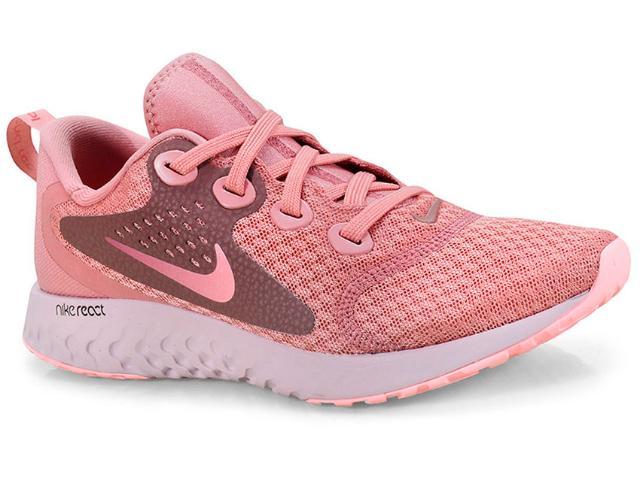 Tênis Feminino Nike Aa1626-602 Rosa Antigo