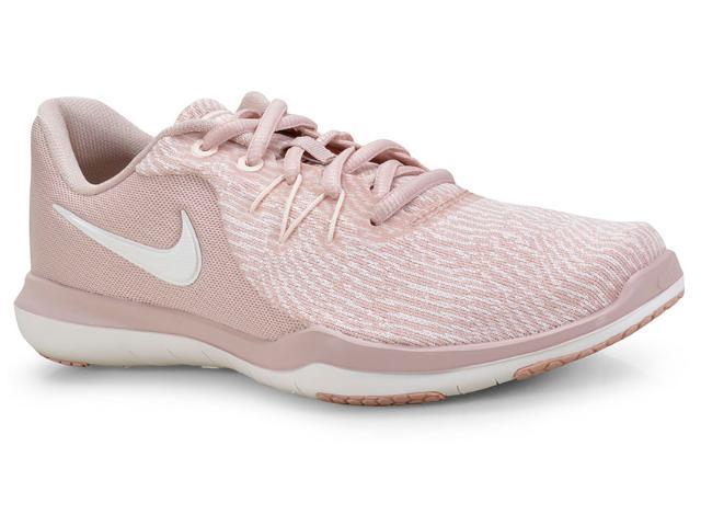 Tênis Feminino Nike 909014-200 Wmns Flex Supreme tr 6 Rose