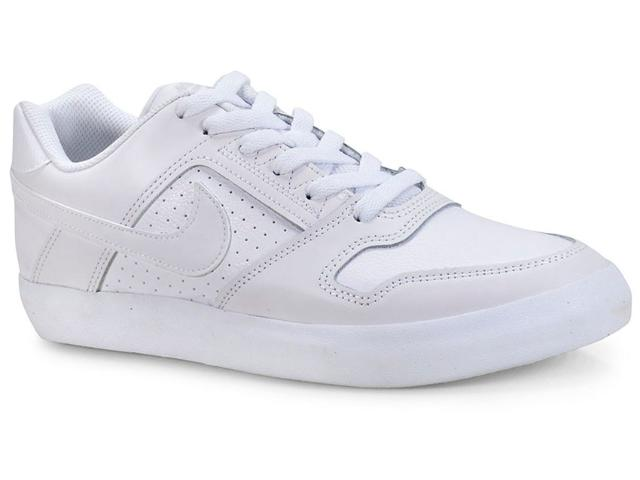 Tênis Masculino Nike 942237-112 sb Zoom Delta Force Vulc Branco/off White