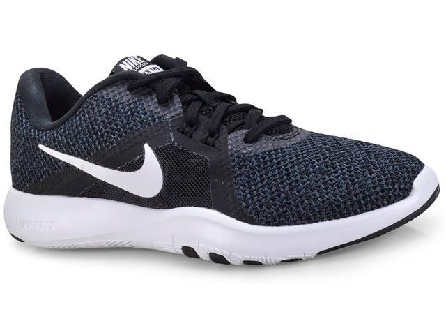 Tênis Feminino Nike 924339-001 w Flex Trainer 8 Preto/branco