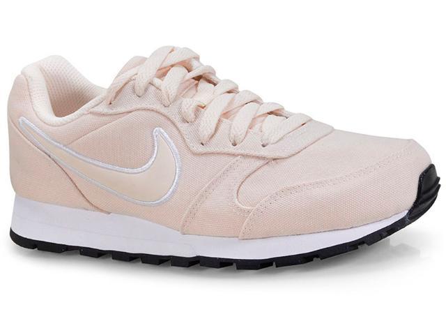 Tênis Feminino Nike Aq9121-800 md Runner 2 Pêssego Claro
