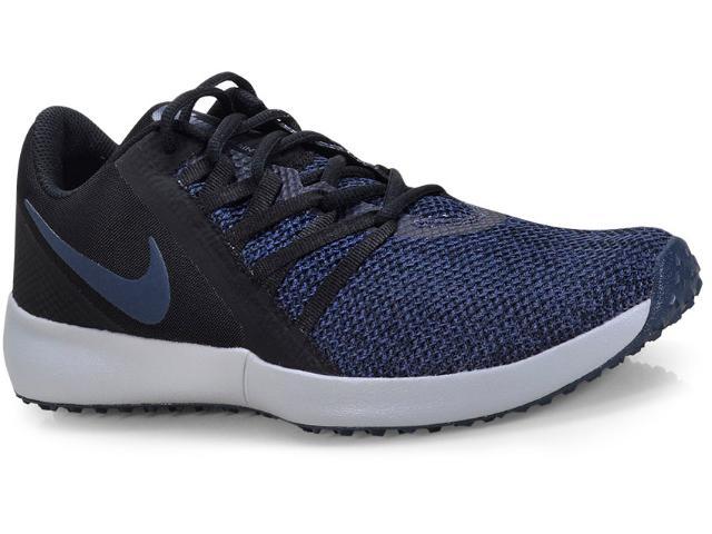 Tênis Masculino Nike Aa7064-005 Varsity Compete Trainer Marinho/preto