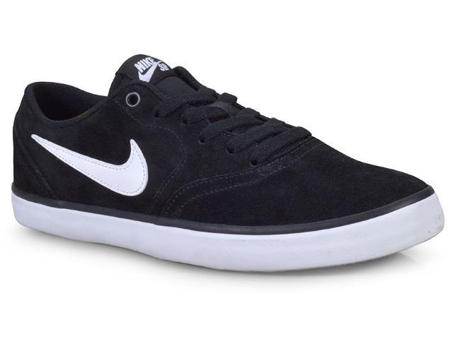 Tênis Masculino Nike 843895-001 sb Check Solar Preto/branco