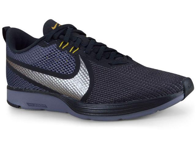 Tênis Masculino Nike Ao1912-004 Z00m Stricke 2 Preto/marinho