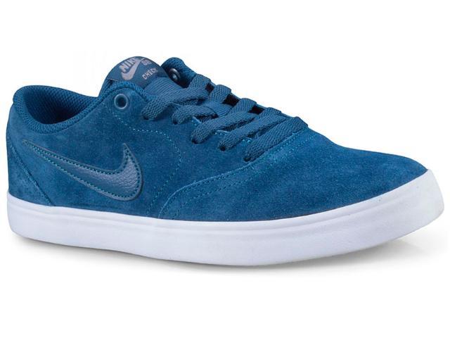 Tênis Masculino Nike 843895-404 sb Check Solar Azul