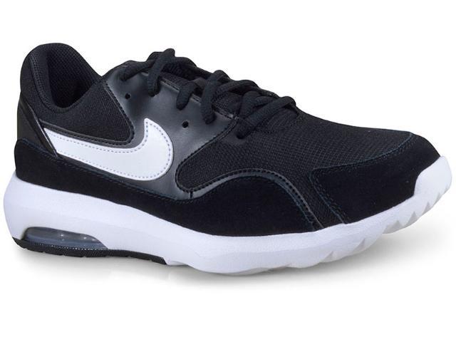 Tênis Masculino Nike 916781-002 Air Max Nostalgic Preto/branco