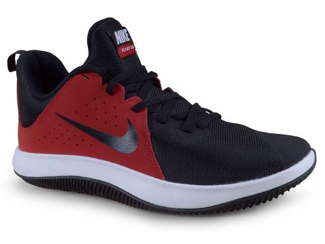 Tênis Masculino Nike 908973-600 Air Behold Low ii Preto/vermelho/branco