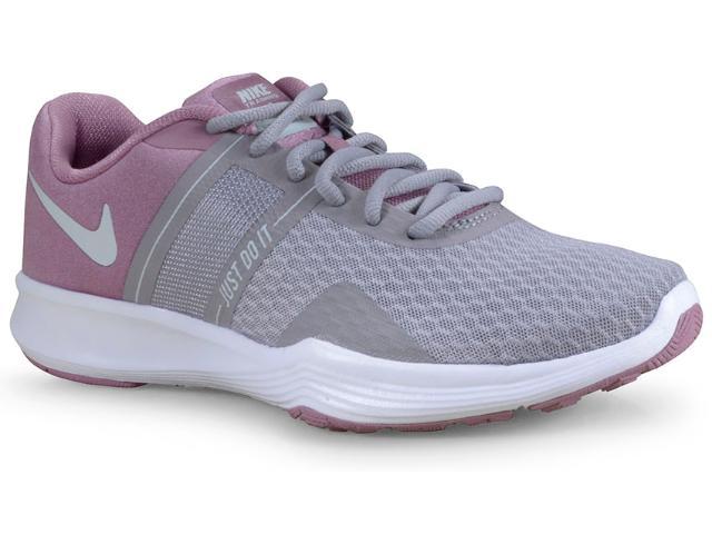 Tênis Feminino Nike Aa7775-500 City Trainer 2 Womens Cinza/lilas