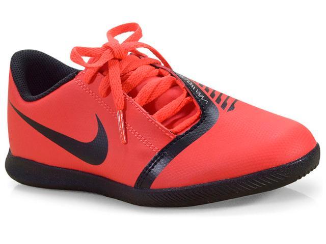 Tênis Masc Infantil Nike Ao0399-600 jr Hypervenom 4 Club ic Vermelho/preto