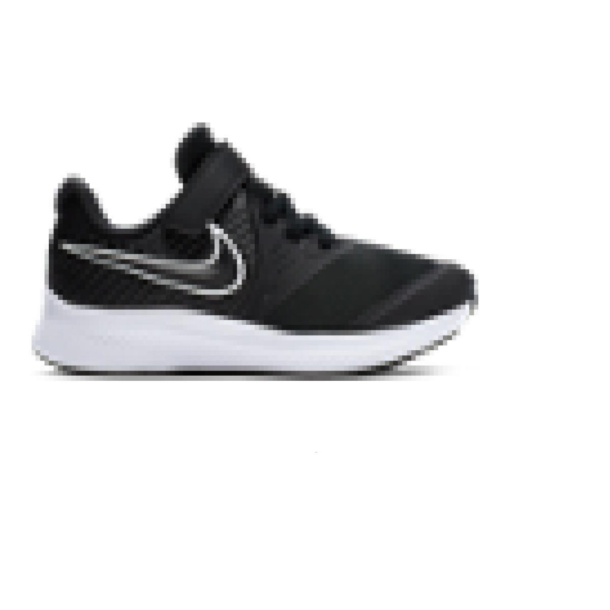 Tênis Masc Infantil Nike At1801-001 Star Runner 2 Preto/branco