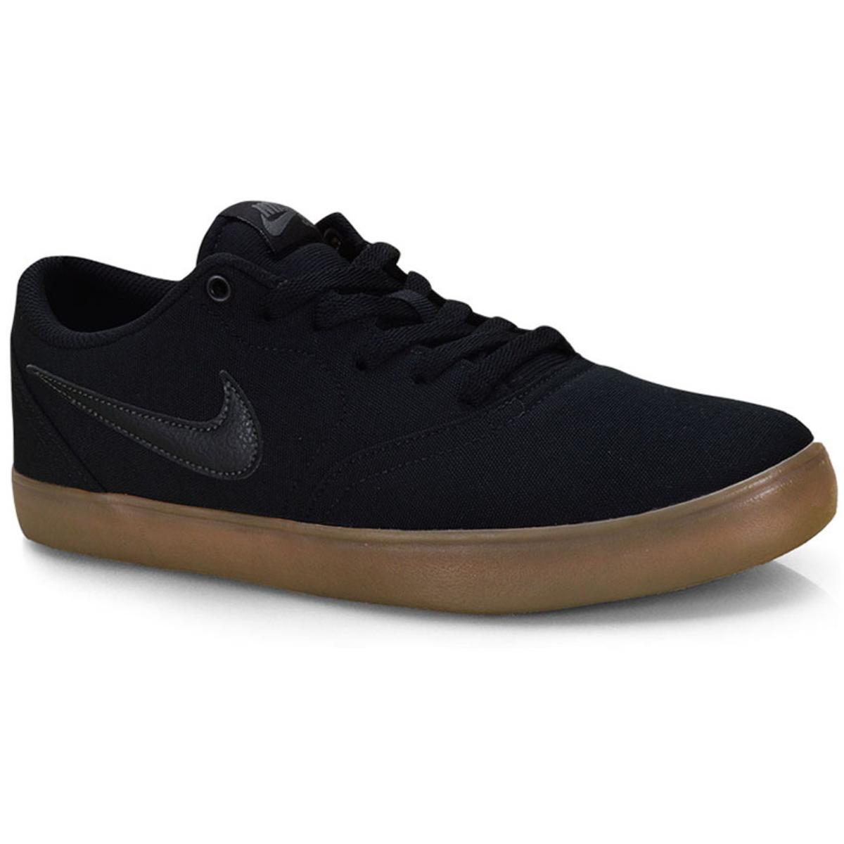 Tênis Masculino Nike 843896-009 Solarsoft Preto/natural