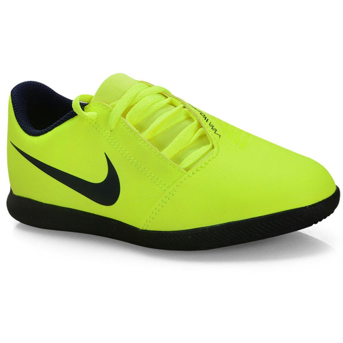 Tênis Masc Infantil Nike Ao0399-717 jr Phanton Venom Club ic Limão/preto