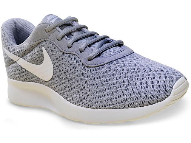 Tênis Masculino Nike 812654-010 Tanjun  Cinza/branco