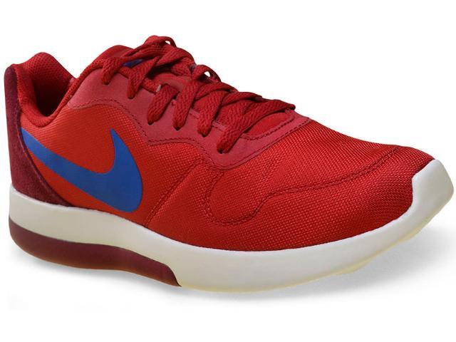 Tênis Masculino Nike 844857-640 md Runner 2 lw Shoe Vermelho