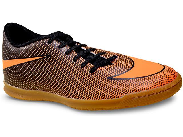 Tênis Masculino Nike 844441-880 Mens Bravata ii (ic) Indoor  Preto/laranja