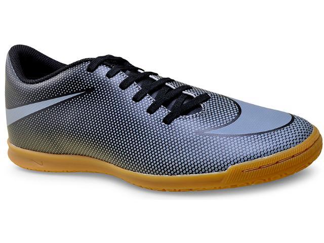 Tênis Masculino Nike 844441-004 Mens Bravata ii (ic) Indoor  Preto/prata