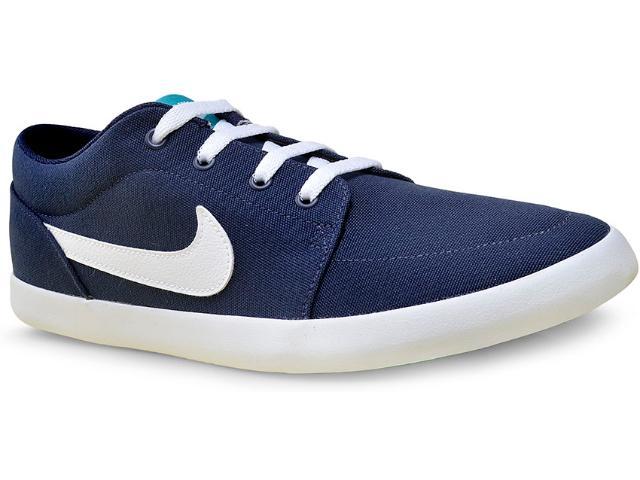 Tênis Masculino Nike 654989-402 Mens Futslide Shoe Marinho/branco