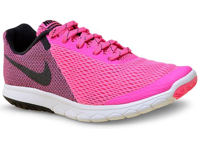 Tênis Feminino Nike 844729-600 Wmns Flex Experience rn 5  Rosa/preto