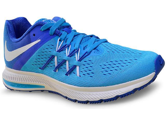 Tênis Feminino Nike 831562-400 Air Zoom Winflo 3  Azul
