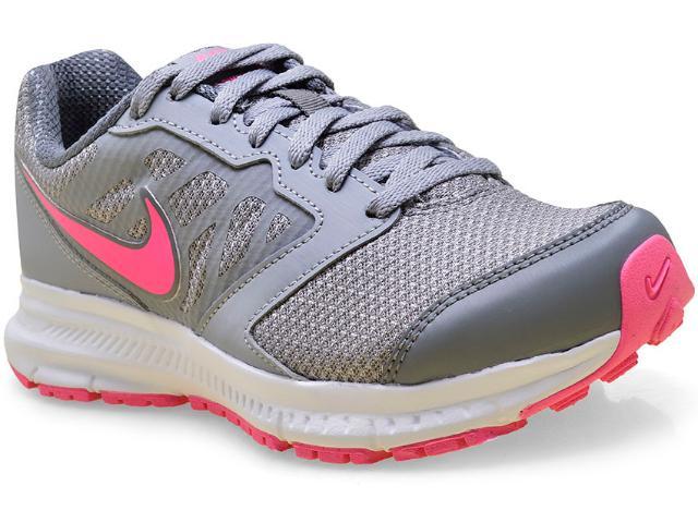 Tênis Feminino Nike 684771-027 Downshifter 6 Msl  Cinza/pink