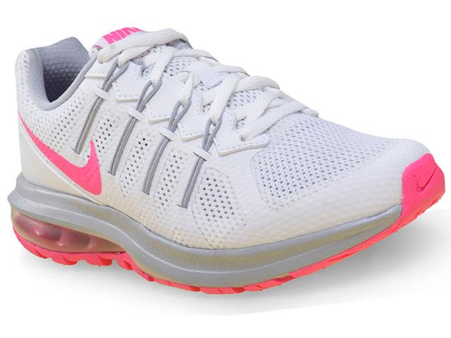 Tênis Feminino Nike 819154-102 Air Max Dynasty Msl  Branco/pink