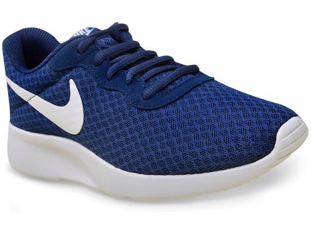 Tênis Feminino Nike 812655-410 Tanjun  Marinho