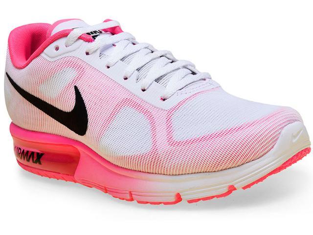 Tênis Feminino Nike 719916-106 Wmns Air  Max Branco/pink