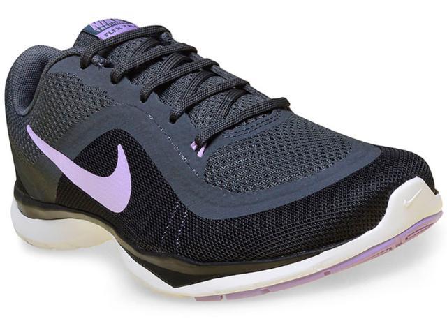 Tênis Feminino Nike 831217-007 Flex 6 Preto/grafite
