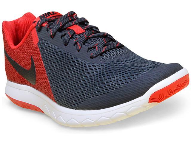 Tênis Masculino Nike 844514-009 Flex Experience rn 5  Grafite/vermelho