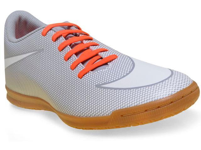 Tênis Masculino Nike 844441-110 Mens Bravata ii Cinza/laranja