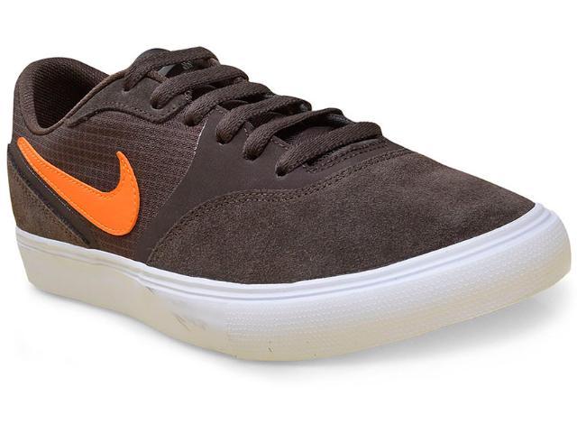 Tênis Masculino Nike 819844-281 sb Paul Rodriguez Marrom