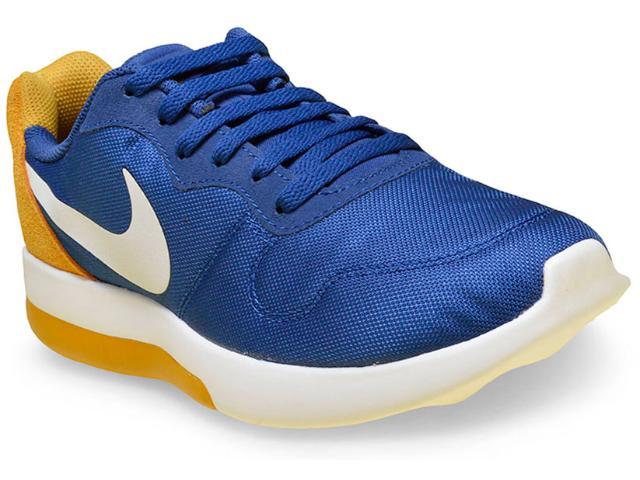 Tênis Masculino Nike 844857-400 md Runner 2 lw Shoe Azul/mostarda