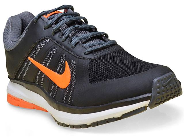 Tênis Masculino Nike 831533-009 Dart 12 Msl Preto/grafite