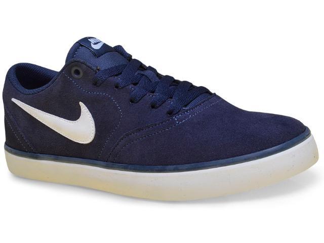 Tênis Masculino Nike 843895-400 sb Check Solarsdft Marinho