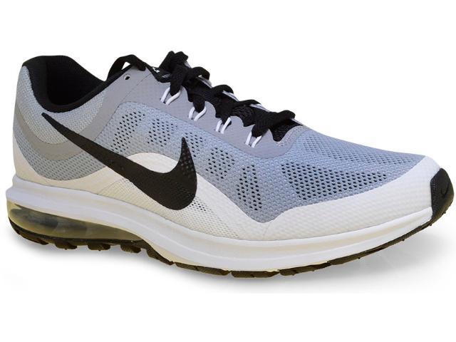 Tênis Masculino Nike 852430-002 Air Max Dynasty 2 Cinza/branco/preto