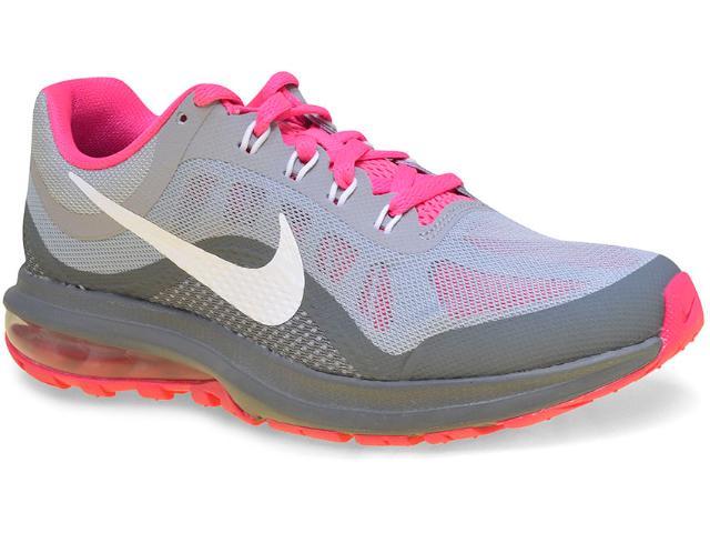 Tênis Feminino Nike 852445-003 Air Max Dynasty 2 Cinza/pink
