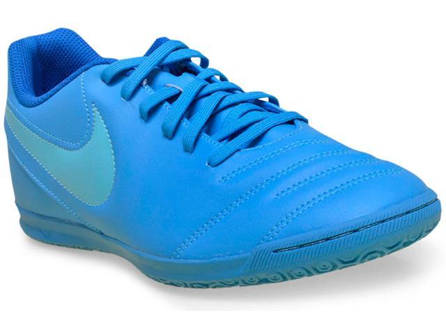 Tênis Masculino Nike 819234-444 Tiempo Rio Iii ic Azul