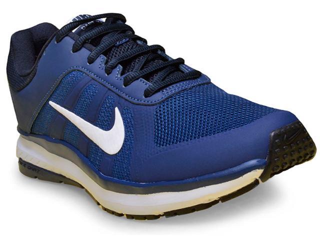 05c7bf607800e Tênis Masculino Nike 831533-403 Dart 12 Msl Marinho branco