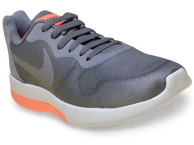 Tênis Masculino Nike 844857-002 md Runner 2 lw Shoe Cinza/laranja Neon