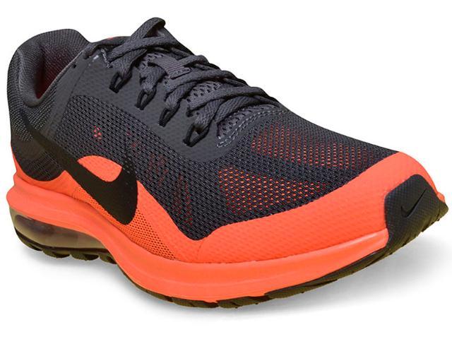 5a068e3e060 Tênis Masculino Nike 852430-005 Air Max Dynasty 2 Grafite laranja