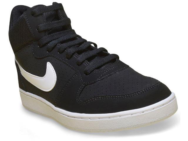 Tênis Masculino Nike 838938-010 Recreation Mid Shoe Preto/branco