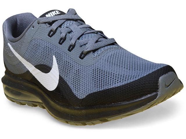 Tênis Masculino Nike 852430-006 Air Max Dynasty 2 Cinza/preto