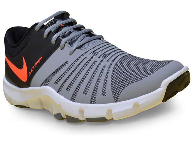 Tênis Masculino Nike 844401-006 Flex Show tr 5 Cinza/preto