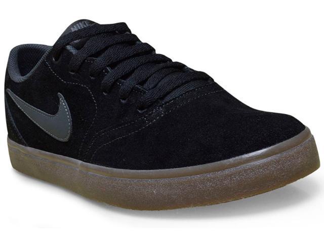 Tênis Masculino Nike 843895-003 sb Check Solar Preto