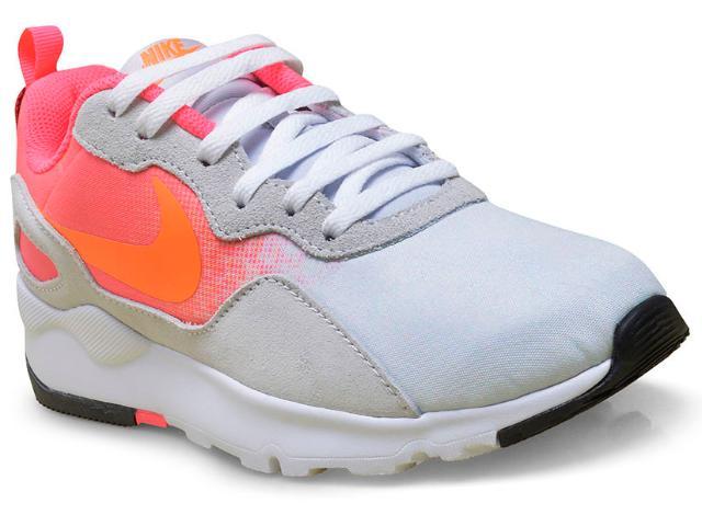 Tênis Feminino 882267-005 Wmns Nike ld Runner  Cinza/rosa Neon