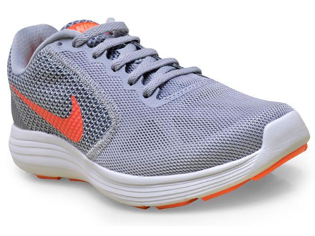Tênis Feminino Nike 819303-002 Revolution 3 Cinza