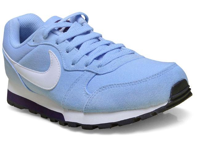 Tênis Feminino Nike 749869-405 md Runner Azul Claro