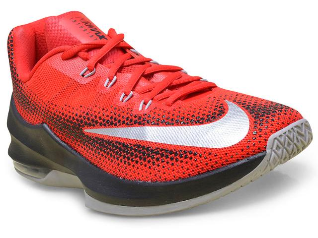 Tênis Masculino Nike 852457-600 Air Max Infuriate Low Vermelho/preto