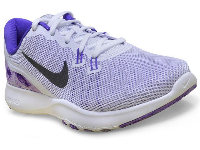 Tênis Feminino Nike 898481-100 Flex tr 7 Training Branco/violeta